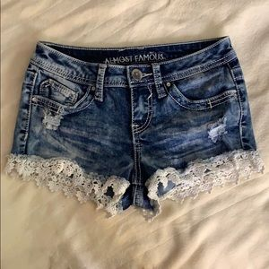 Almost Famous Shorts - Jean shorts